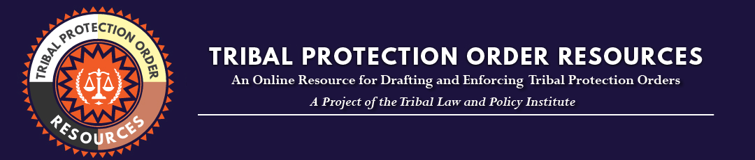Tribal Protection Order Resources